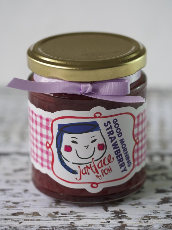 Strawberry jam by Jamface by Poh © Good Things