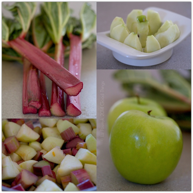 Fruit - Rhubarb and apple galette - recipes for all seasons - bizzylizzysgoodthings.com