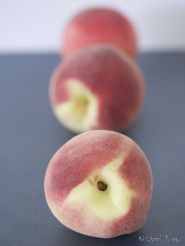 White fleshed peaches by Liz Posmyk Good Things