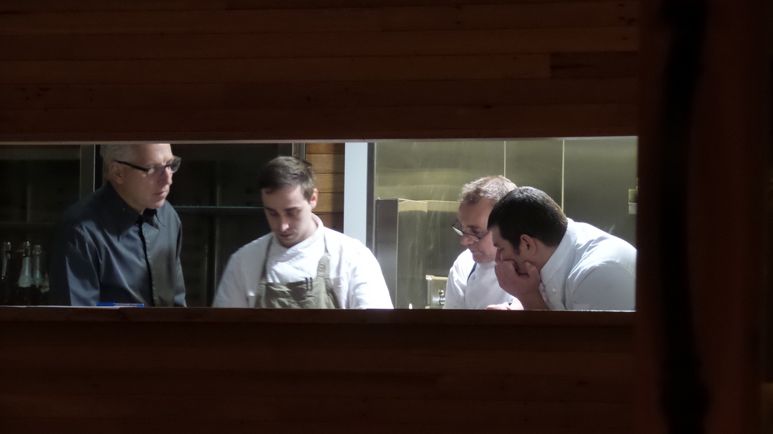 Chefs Jan Gundlach Brendan Walsh and their team at the Farmhouse Restaurant Pialligo Estate - photo Liz Posmyk Good Things