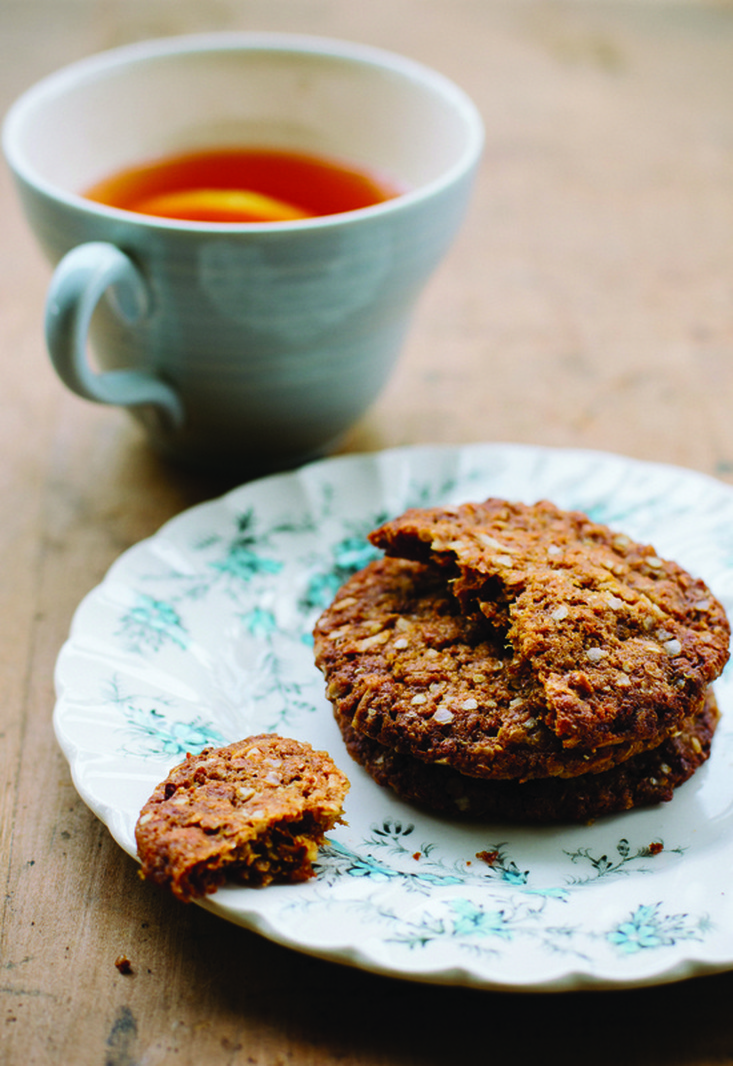 Quinoa and Lemon ANZAC biscuits by Emma Galloway