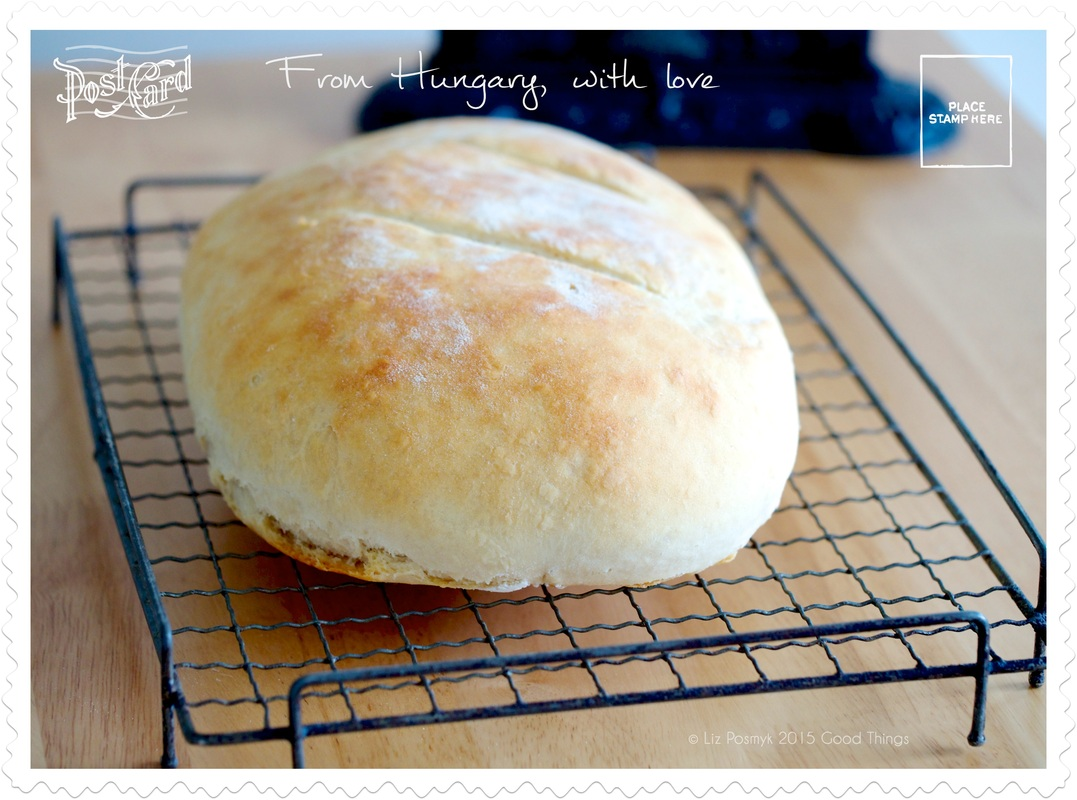 Hungarian potato bread from Hungary with Love by Good Things
