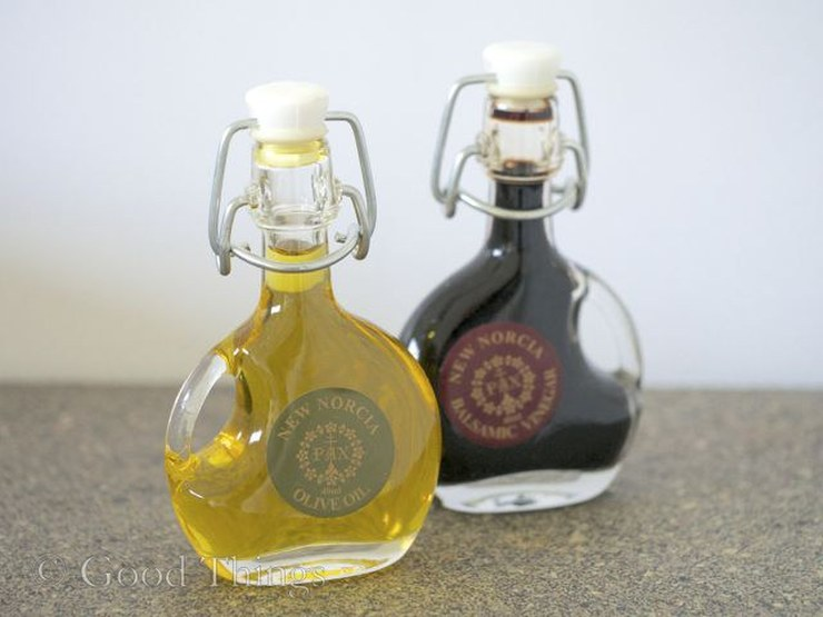 New Norcia olive oil and balsamic - photo Liz Posmyk Good Things