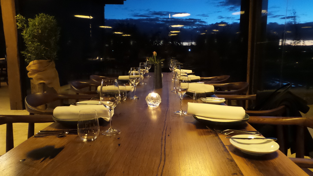 Nightfall at the Farmhouse Restaurant Pialligo Estate - photo by Liz Posmyk Good Things