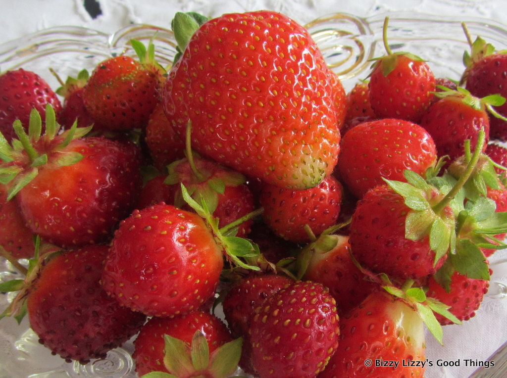 Garden fresh strawberries by Good Things