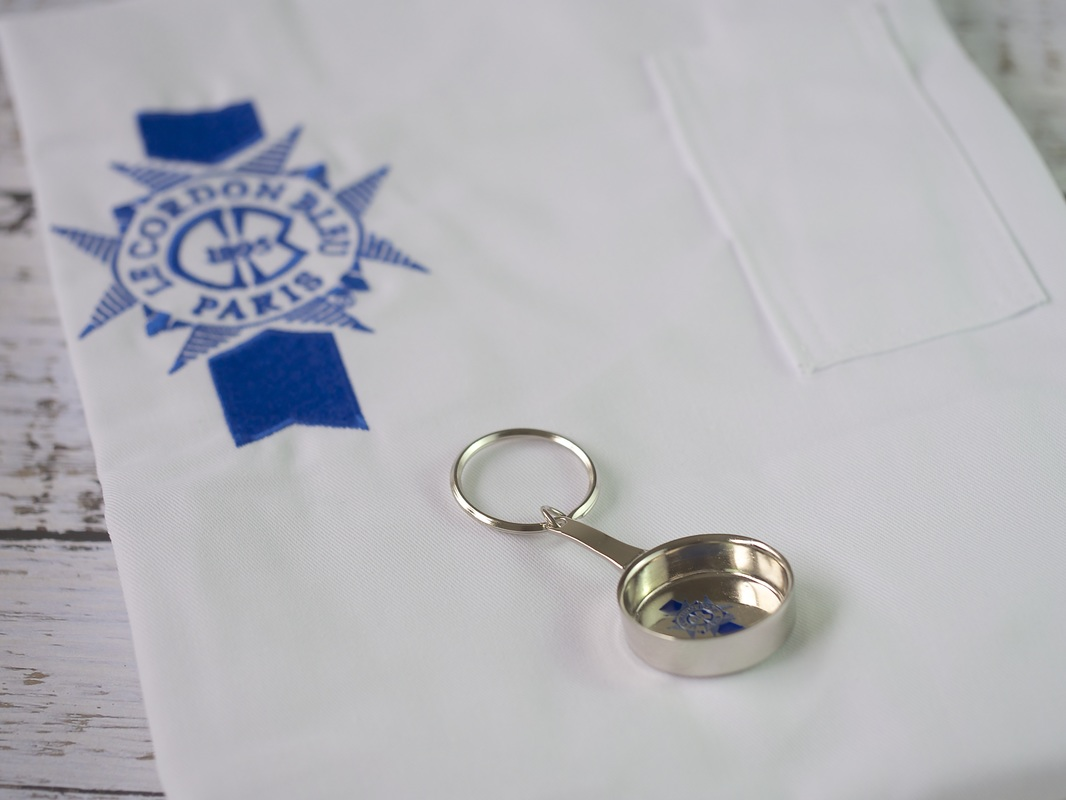 Apron and key ring from Le Cordon Bleu in Adelaide © Good Things