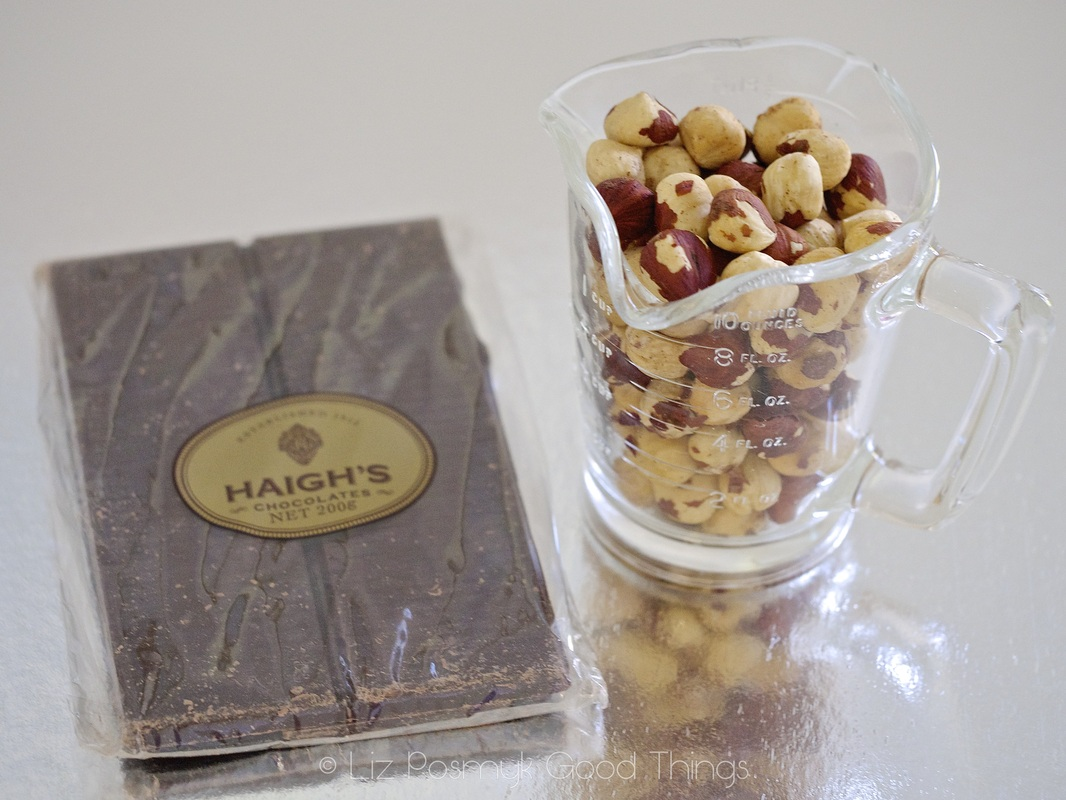 Ingredients for Best ever chocolate and hazelnut fudge brownies - Haigh's Chocolates recipe