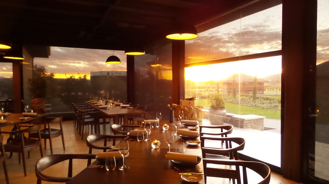 Picturesque sunset at The Farmhouse Restaurant Pialligo Estate - photo by Liz Posmyk Good Things