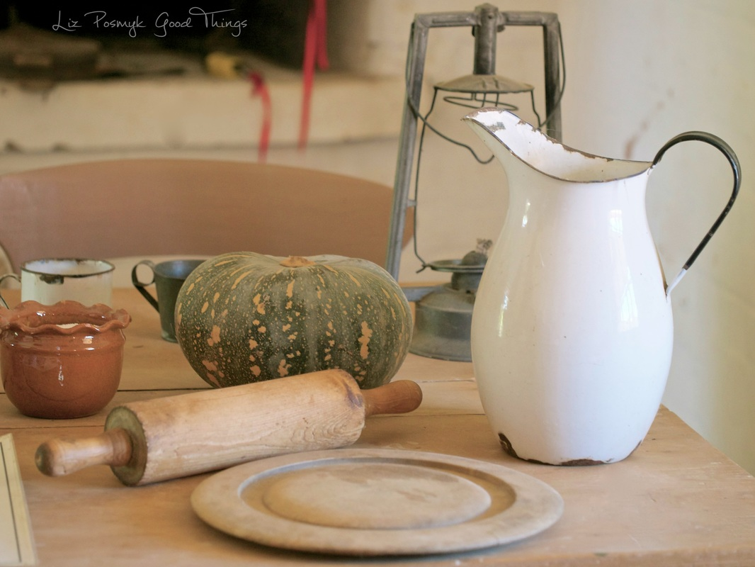 Kitchen table at Cooma Cottage by Liz Posmyk Good Things