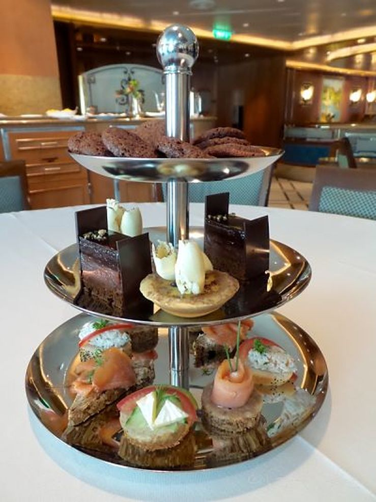 A delicious selection on board the Golden Princess - photo Liz Posmyk, Good Things