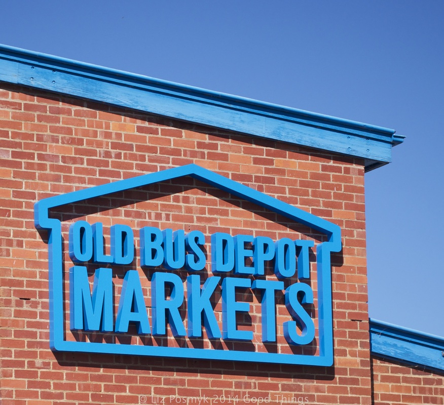 Old Bus Depot Markets by Liz Posmyk