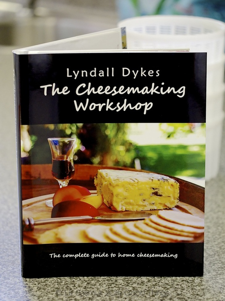 Lyndall Dykes has written a unique book on The Cheesemaking Workshop