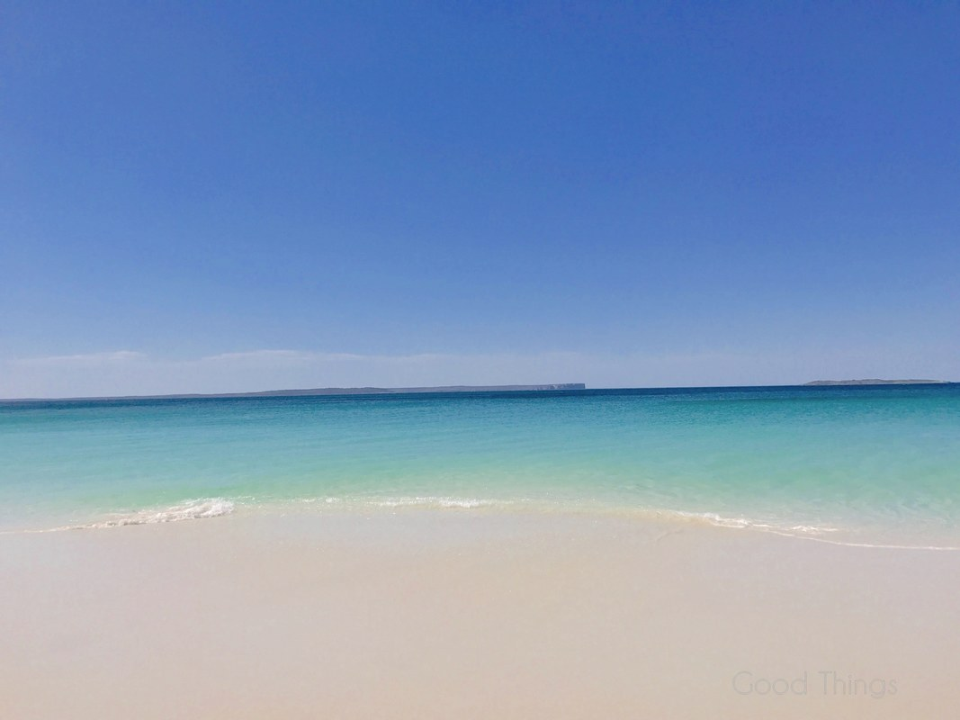 The white sands and clear water at Hyams Beach - Liz Posmyk Good Things