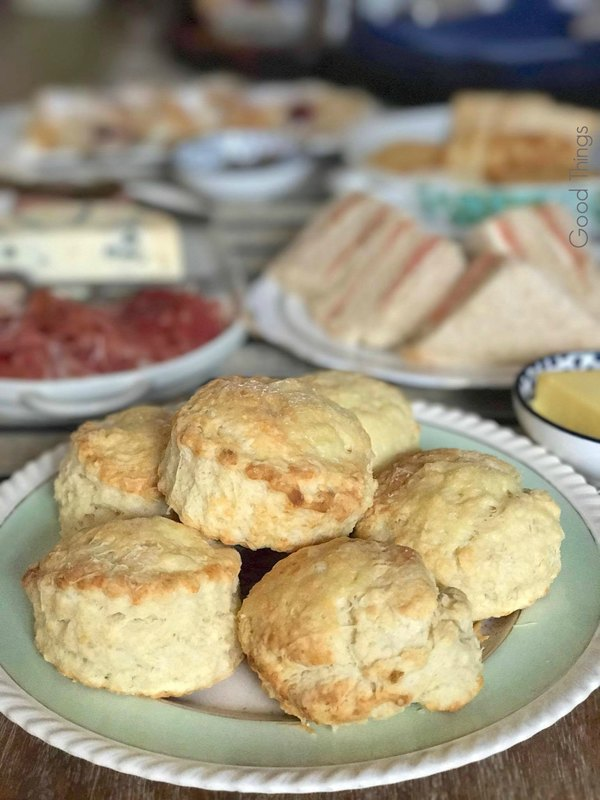 Cheese scones - photo Liz Posmyk Good Things