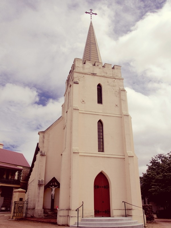Historic St Clement's Anglican Church in Yass, NSW, Australia - Liz Posmyk