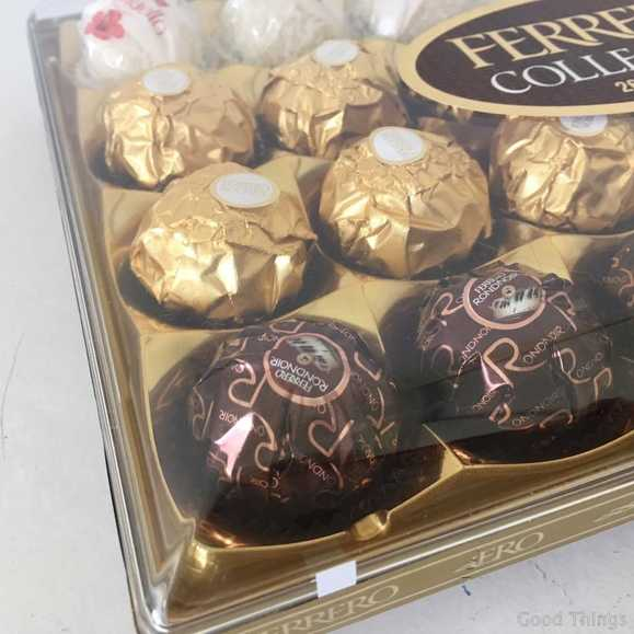 Ferrero Rocher chocolates - Liz Posmyk Good Things