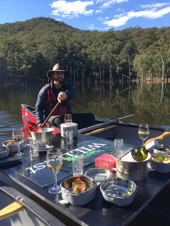 WILDfest Southern Highlands Canoes, Champagne & Canapés Experience at Wildfest Southern Highlands