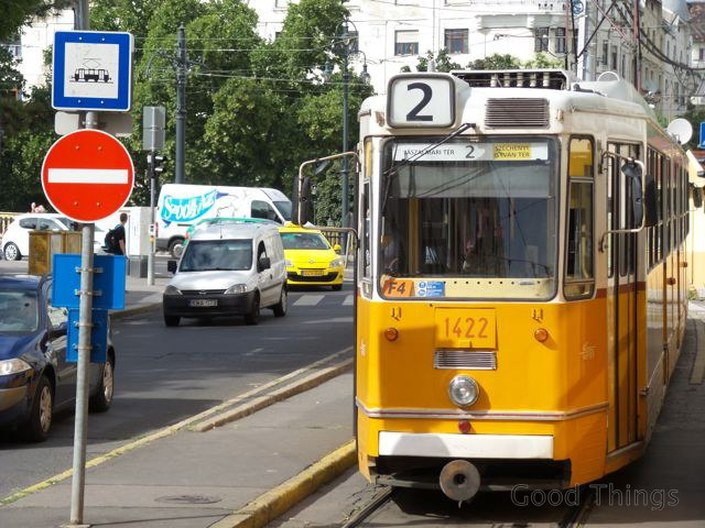 The number two tram in Budapest - Liz Posmyk Good Things