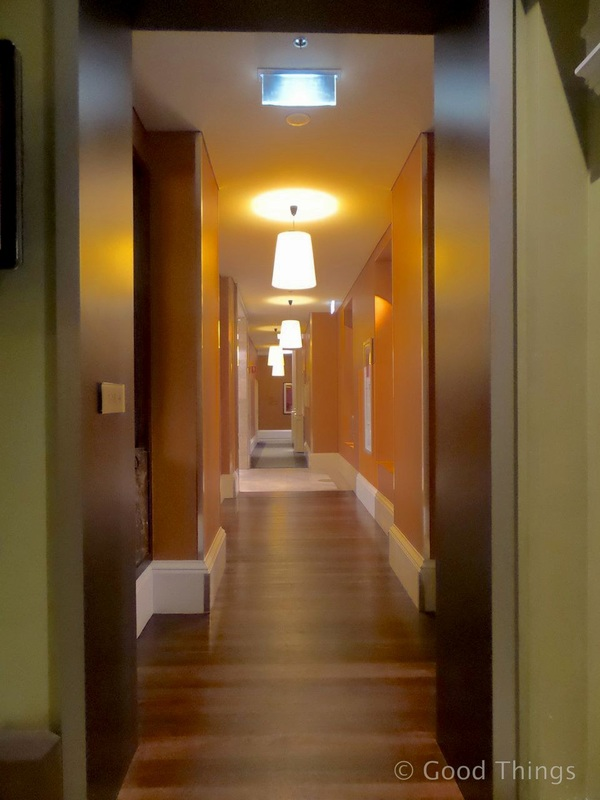 One of the hallways at the Adina Treasury in Adelaide - Liz Posmyk Good Things
