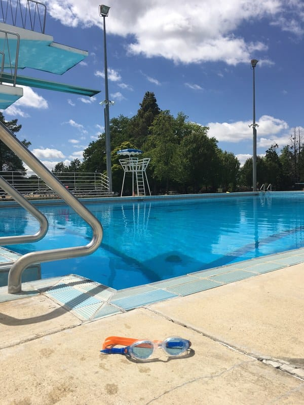 The Olympic Swimming Pool in Canberra City by Liz Posmyk, Good Things