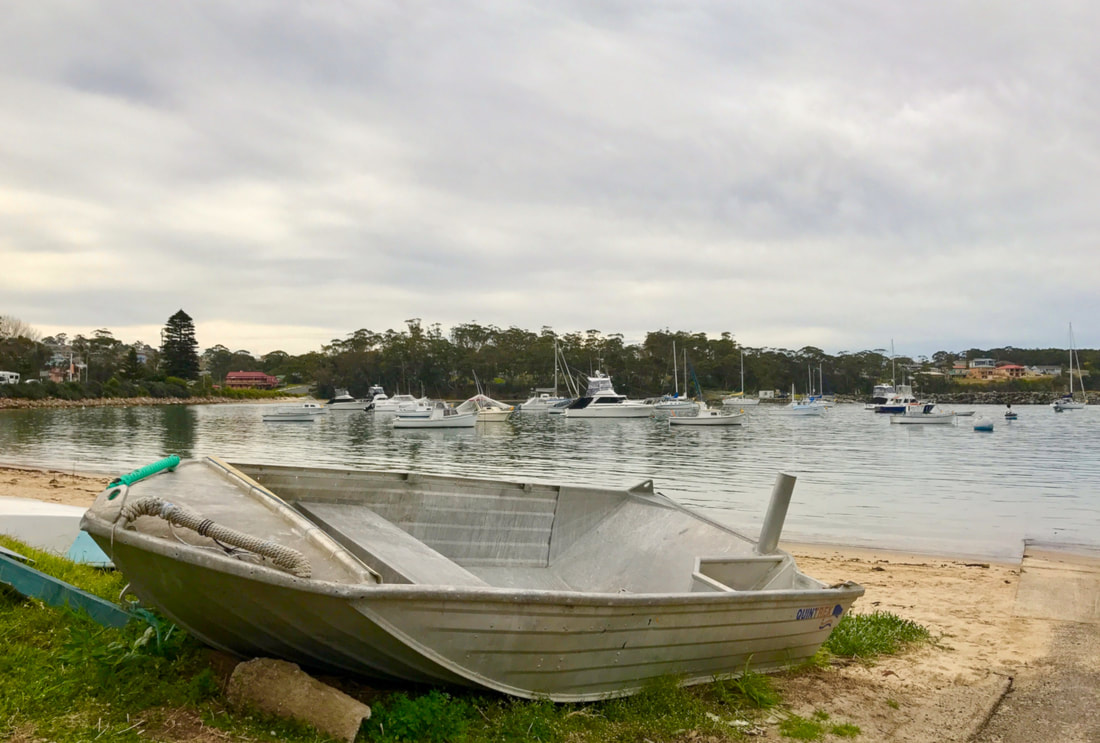 Boats on the harbour at Ulladulla NSW - Liz Posmyk Good Things