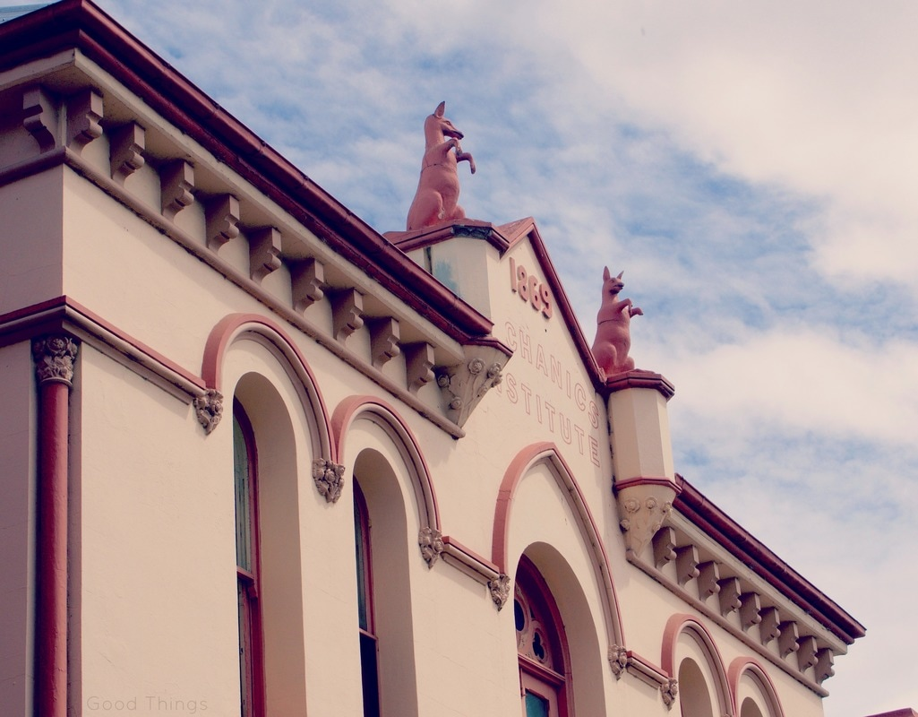 The Mechanics Institute in Yass NSW - Liz Posmyk