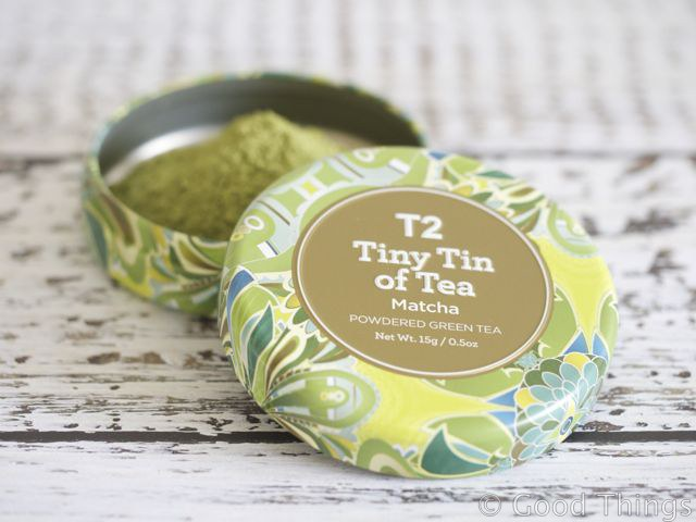 Matcha from T2 - photo Liz Posmyk Good Things