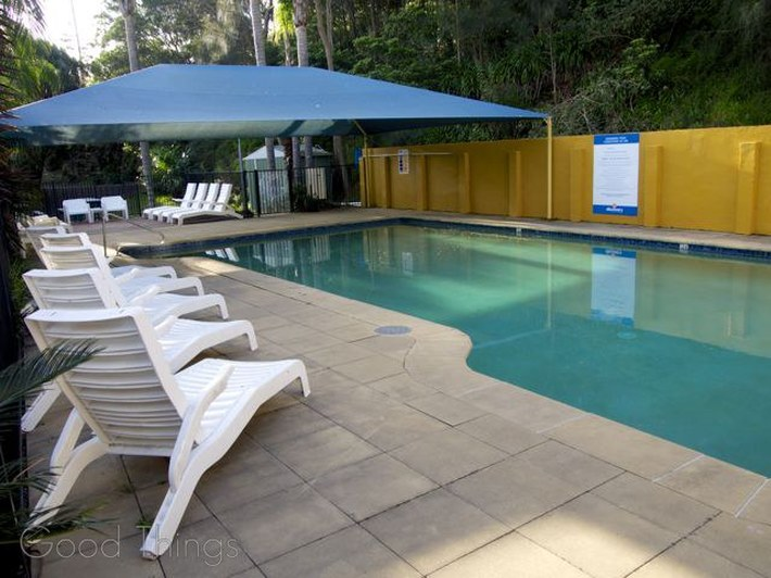 Solar Heated Swimming Pool at Discovery Holiday Parks Gerroa - Liz Posmyk Good Things