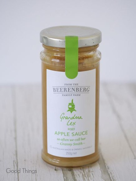 Apple sauce from Beerenberg - Liz Posmyk Good Things