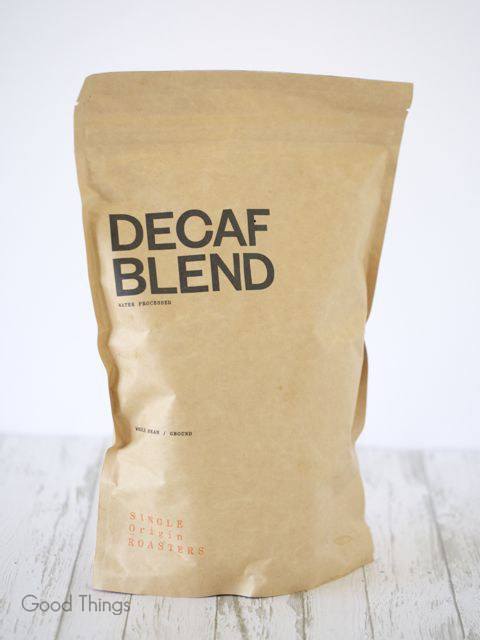 Single Origin decaf - Liz Posmyk Good Things