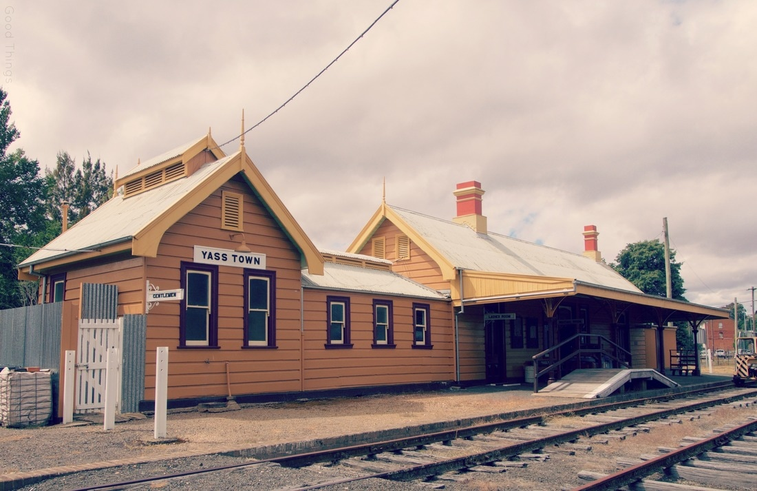 The Historic station at Yass in NSW Photo Liz Posmyk
