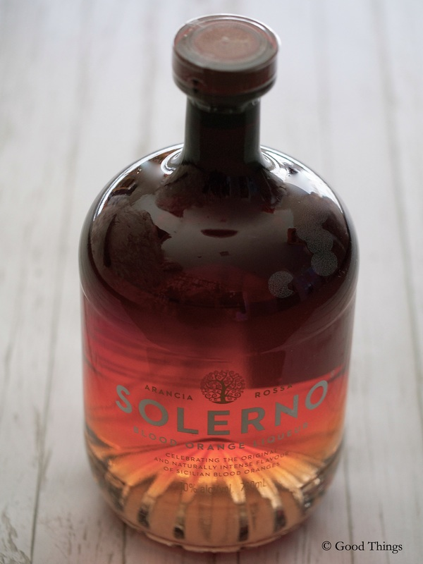 Solerno - blood orange liqueur - Liz Posmyk Good Things