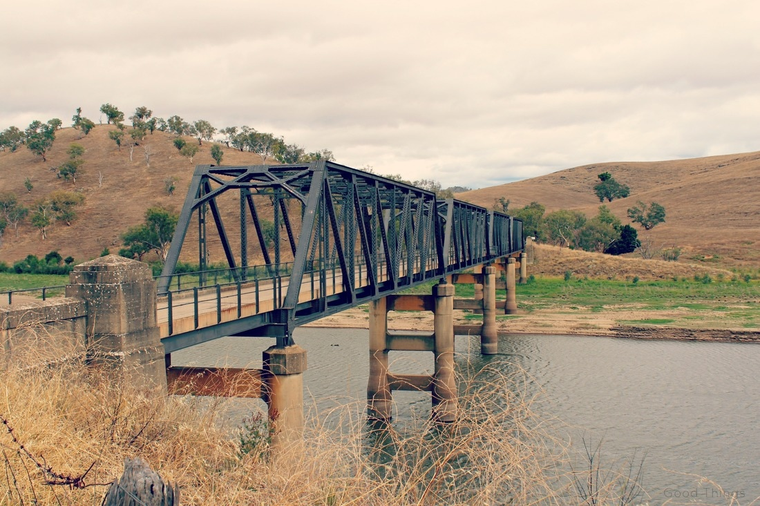 Historic Taemas Bridge between Yass and Wee Jasper, NSW Australia - Liz Posmyk